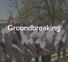 Groundbreaking button