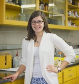 Maria Goodfellow '16, Biology