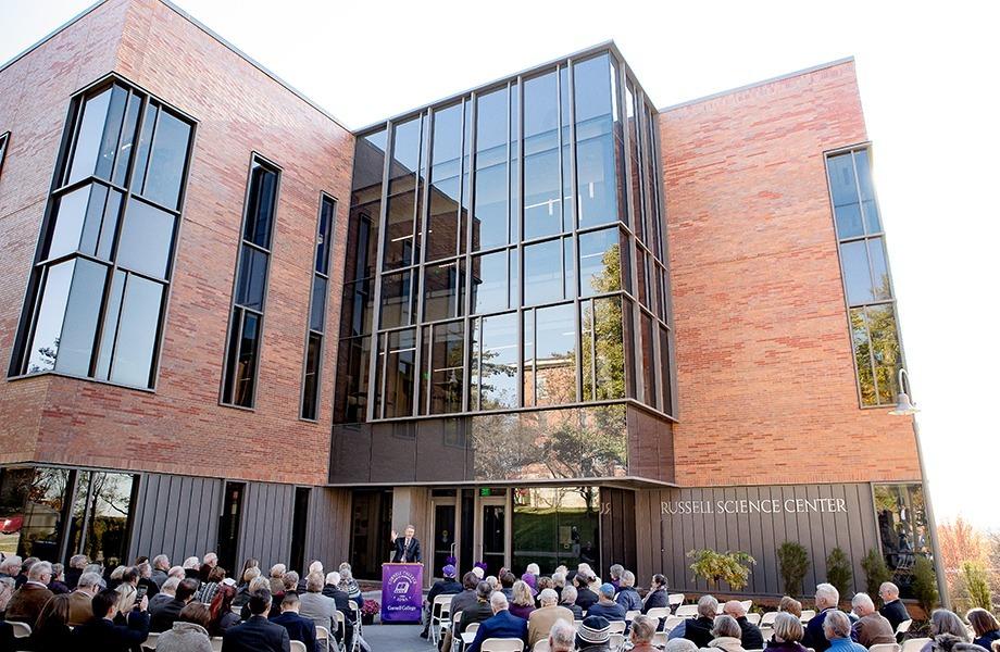 Russell Science Center Dedication